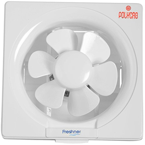 Polycab Fexdofr007p 38 Watt Plastic Freshner Exhaust Fan (white)