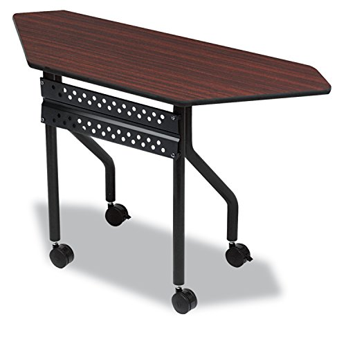 officeworks-mobile-training-table-trapezoid-48w-x-18d-x-29h-mahogany-sold-as-1-each