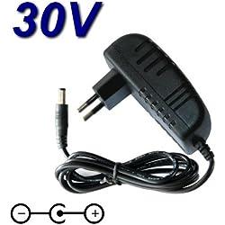 TOP CHARGEUR * Adaptateur Secteur Alimentation Chargeur 30V pour Aspirateur Balai sans Fil Hoover Anthen ATN252LI ATV252LT011 ATV252RM011