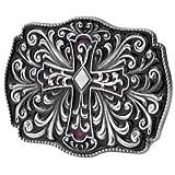 Celtic Decorative Intricate Cross Belt Buckle
