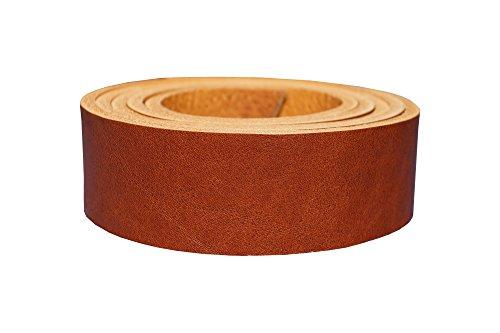 Vollrindleder Lederriemen Nevada, 4mm dickes Vollleder in 9 Oberflächen, Breite:2cm, Farbe:cognac...