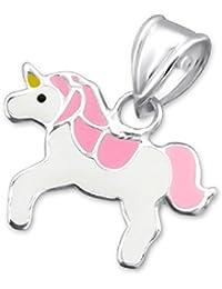 So Chic Joyas - Colgante Niños unicornio Plata 925