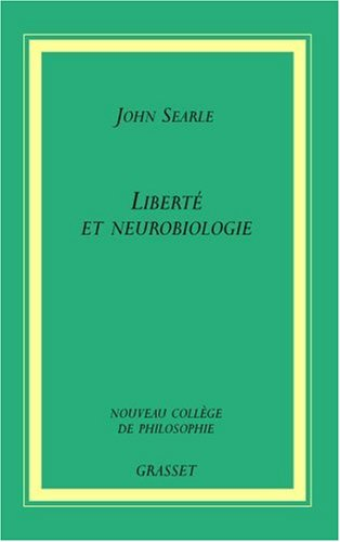 Liberté et neurobiologie