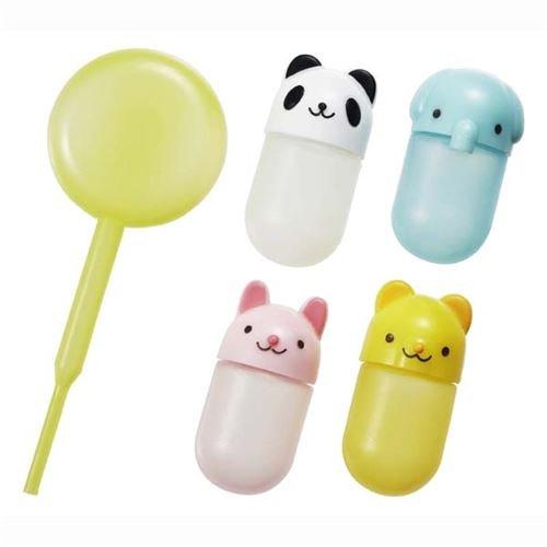 4 niedliche Tier Mini-Soßebehälter für Bento Box -