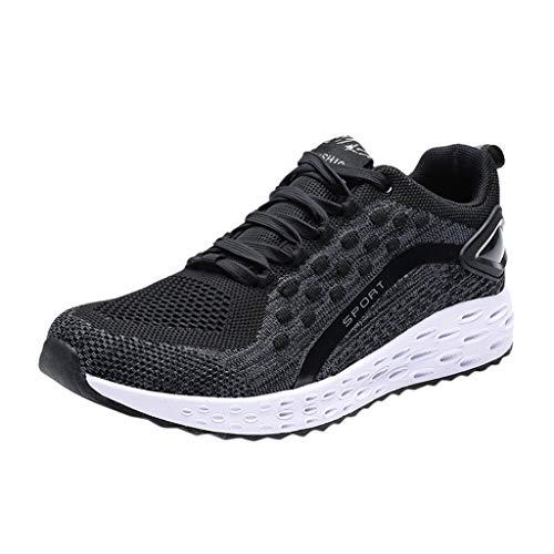 Paare Sportschuhe, Turnschuhe Damen Herren Sneaker Sommer Casual Schuhe Mesh Wanderschuhe Atmungsaktive Plateauschuhe Wild Laufschuhe Fitnessschuhe Outdoor Trainning Freizeitschuhe