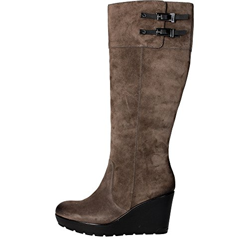Stonefly 103470 M27 Stivale Donna Camoscio Taupe Taupe 37