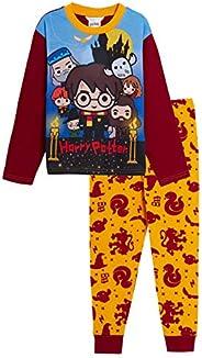 Pijama de Harry Potter de longitud completa para niños y niñas, diseño de Gryffidor, Hogwarts