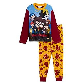 HARRY POTTER Pijama Longitud Completa para niños y niñas