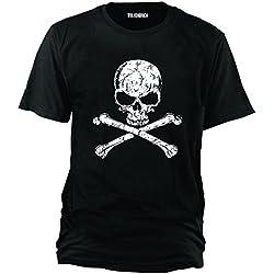 Sputnik-Shirts - Camiseta diseño de calavera