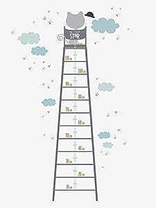 Vertbaudet - Sticker-toise géant Miaous'tach
