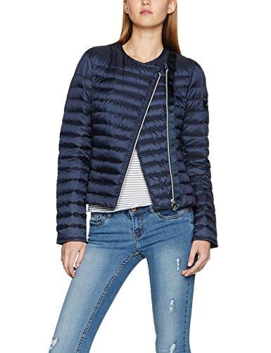 Peuterey Damen Jacke Dalasi MQ Blau (Blau 215), 40 (46) (Tab-kragen-jacke)