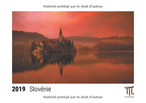 Slovenie 2019 calendrier de bureau timokrates calendrier photo calendrier photo