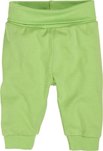 Schnizler Unisex Baby Hose Babyhose, Jogginghose mit elastischem Bauchumschlag, Oeko - Tex Standard 100, Gr. 56, Grün (grün 29)