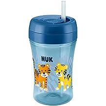 NUK Easy Learning Cup FUN con retráctil Pajita de silicona, a partir de 18meses, 300ml
