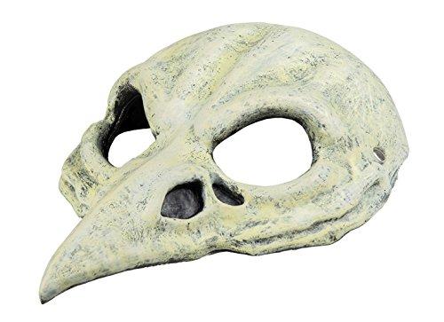 erdbeerclown- Halloween Kostüm Maske Vogel Skelett Erwachsenen Maske , (Katze Kostüm Frankenstein)