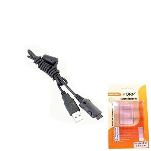 HQRP Câble USB pour Samsung YP-T8A, YP-T10, YP-U10, E10 lecteur MP3 / MP4