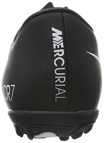 Nike Herren Mercurial Victory V Cr Tf Fußballschuhe Schwarz / Weiß / Orange (Schwarz / Weiß-Gesamt Hochrot)
