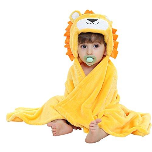 Vine Bambini Poncho con cappuccio Cartoon - Telo da spiaggia/Asciugamano bagno Coperte da culla 100*70CM