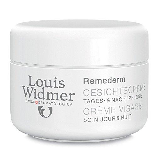 Louis Widmer Remederm Gesichtscreme Tages-und Nachtpflege leicht parfuemiert, 50ml