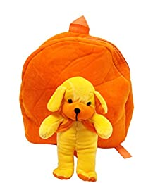 PRACHI TOYS'' Cute TEDDY Soft Toy For School Bag For Kids, Travelling Bag, Carry Bag, Picnic Bag, Teddy Bag (ORANGE)
