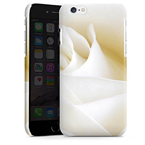 Apple iPhone 4 Housse Étui Silicone Coque Protection Rose Blanc Blanc Cas Premium brillant
