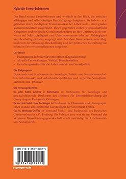 Hybride Erwerbsformen: Digitalisierung, Diversität Und Sozialpolitische Gestaltungsoptionen 1