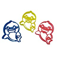 Baby, Mama and Daddy Shark Cookie Cutters (3 Pack)