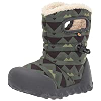 BOGS Boys Kids BMOC Mountain Green Waterproof Warm Lined Wellies Boot 724591 340-11 UK 29 EU