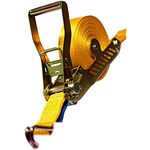 Viwanda - Cinta de Trincaje retretráctil de 50mm x 8M con función EZ RELEASE