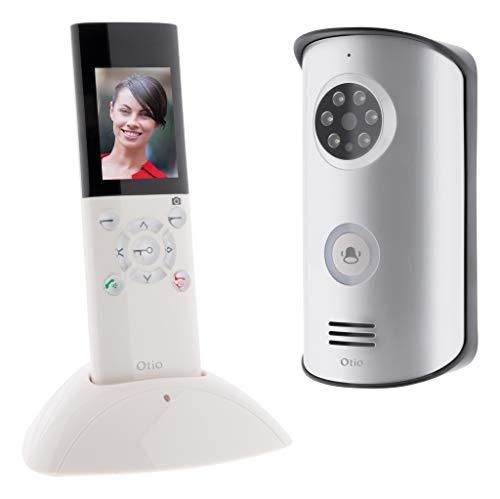 Portier vidéo sans fil portatif