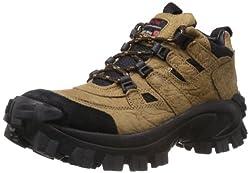 Woodland Mens Camel Leather Boots - 8 UK/India (42 EU)