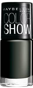 Maybelline Color Show Nail Enamel, Blackout, 6ml