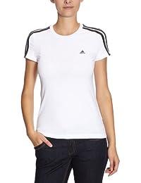 adidas X20823 T-shirt pour femme Essentials 3S