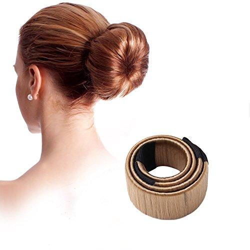 harmon-damen-haarband-friseur-band-fashion-haarstyling-tool-donut-hair-bun-maker-hellbraun