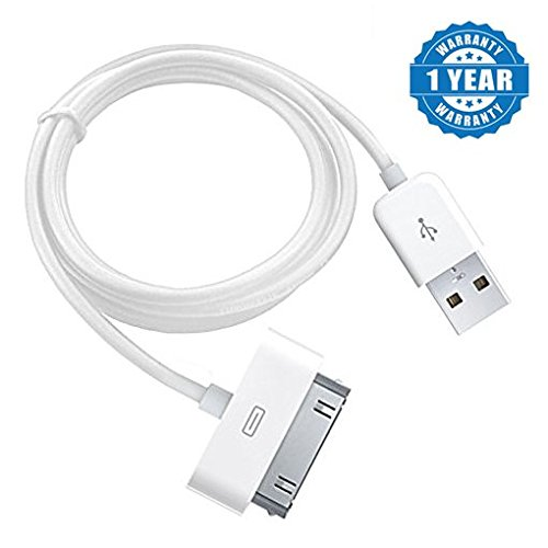 Drumstone High Speed Tangle free Fast Charging USB to 30 Pin Lightning Charging and Data Sync Cable For Apple Iphone 4 / 4S / 3G / 3GS / iPad / iPod Suitable with Smartphones (One Year Warranty, Assorted Colour)  available at amazon for Rs.175