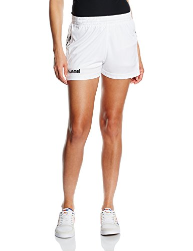 Hummel Damen Shorts Core S, white, M, 11-086-9001