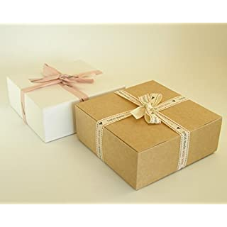 10 x Self Assembly Gift Boxes (#D) Perfect for Gift Presentation for toiletries, chocolates, cakes, biscuits, dried food, ceramics, sweets etc