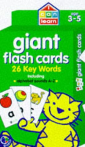 Giant flash cards : 28 alphabet cards