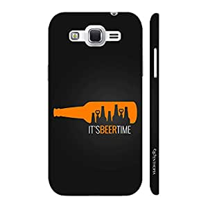 Enthopia Designer Hardshell Case Its Beer Time Back Cover for Samsung Galaxy J2 (2016)