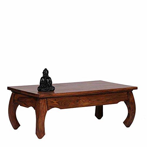 Pharao24 Holztisch Tischgestell aus Akazie Massivholz