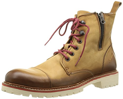 Bunker Job, Boots homme Marron (Camel)