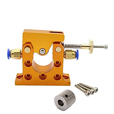 Anycubic 5mm Bore All metal Bowden Remote Extruder Compatible with 1.75mm and 3mm Filament for Reprap 3D Printer Delta Kossel