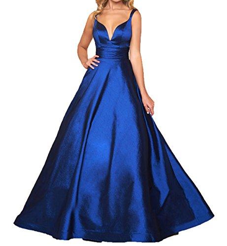 WDH Dress Damen A-Linie Kleid rot rot 58 Gr. 54, blau