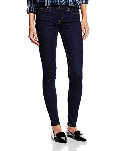 Tommy Hilfiger Damen, Jeggings, Jeans, Como, Blau (STEFFIE 727), W25/L32 (Herstellergröße: W25/L32) (Floral Five-pocket-jeans)