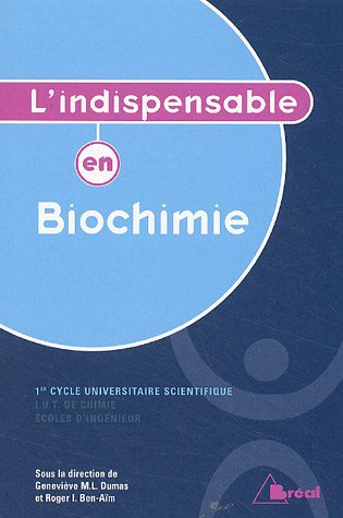 L'indispensable en Biochimie