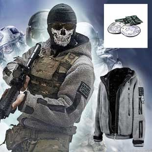 out 174 ~ 178cm 01 COD MW2 MW3 TF141 Call of Duty Call of Duty cosplay battle dress jacket size XL (japan import) (Call Of Duty Kostüm)