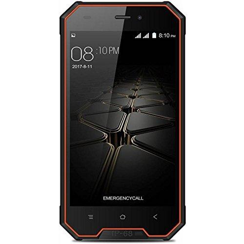 Blackview BV4000 Pro - 4,7 3G Smartphone, IP68 Gegen Staub und Wasser Geschützt, Android 7.0 Quad Core 2GB+16GB, 3680mAh, SONY Kamera 8MP+2MP, Dual SIM, Entsperrt - 6 Ultra-sim-karte Für Iphone