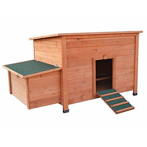 Hühnerstall Hühner Käfig Legenest aus Holz ca. 149 x 80 x 79 (BxHxT) - 2