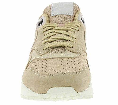 Nike NikeLab Air Max 1 Pinnacle Schuhe Echtleder-Sneaker Turnschuhe Beige 859554 200 Beige