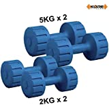 Kore K-DM-2kg +5kg-Combo 161 Dumbbells Set